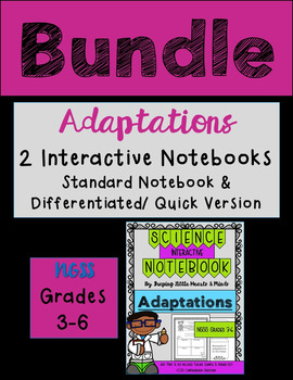 Adaptations BUNDLE Standard & Differentiated/Quick Version