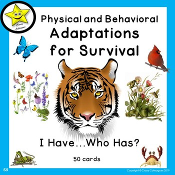 Adaptations for Survival, I Have Who Has