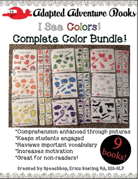 Adapted Adventure Books! - Color Series - Complete Bundle!
