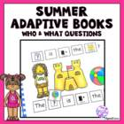 Adapted Beach Who and What Questions