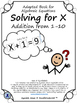 Adapted Book: Algebra and Solving for X for LIFE Skills an