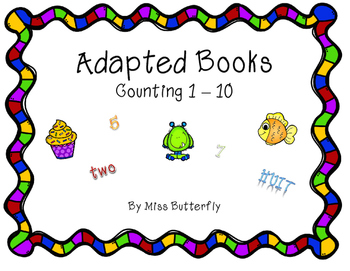 Adapted Book - Counting 1 to 10
