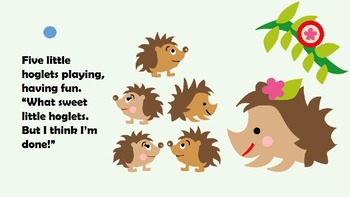 Adapted Book - Counting Hedgehogs