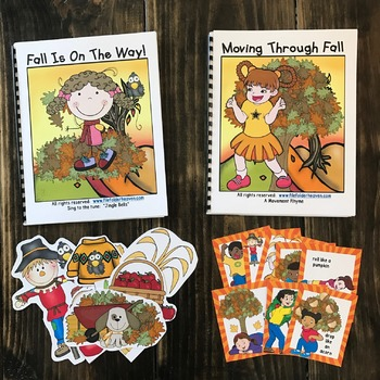 Fall Adapted Song Book--Fall is on the Way!