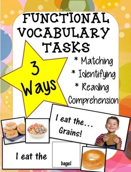 Adapted Book Functional Vocabulary- GRAINS