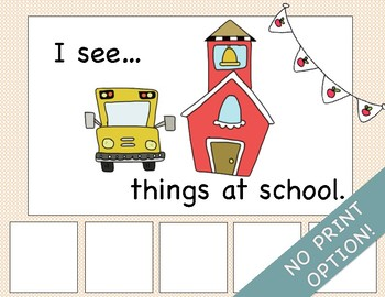 Adapted Book: I See Things at School