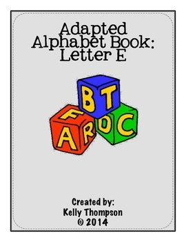 Adapted Book - Letter E