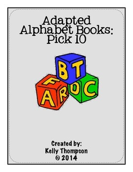Adapted Book - {Pick 10 Books Bundle}