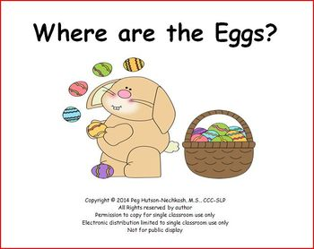 Where Are the Eggs?: An Interactive Easter Book