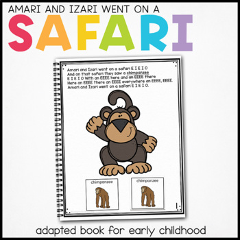Cheetah Cheetah What Do You See?: Adapted Book for Special
