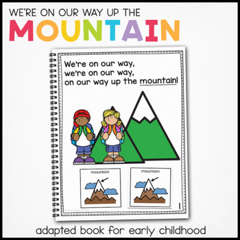Eagle, Eagle What Do You See?: Adapted Book for students w