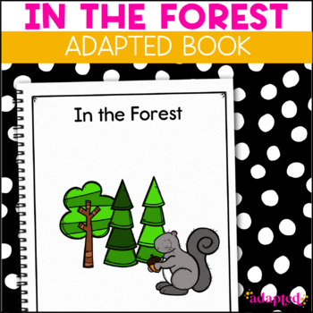 Squirrel, Squirrel  What Do You See?: Adapted Book for stu