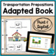 Prepositions Adapted Books BUNDLE (Autism & Special Education)