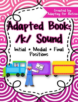 Articulation Adapted Book: /k/ (Speech Therapy)
