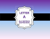 Adapted Book on teaching the letter A