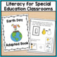 Adapted Book with Comprehension Check: Earth Day (Autism &