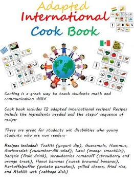 Adapted International Cookbook and Recipes (adapted with p