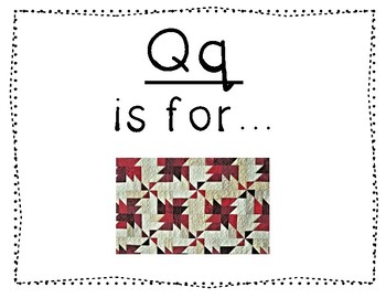 Adapted Letter Q Book