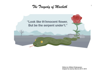 Adapted Reading of Shakespeare's Macbeth