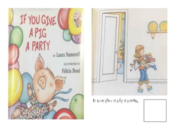 Adaptive Book- If you give a Pig a Party