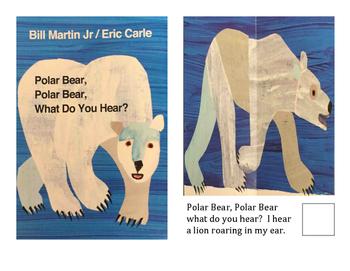 Adapted Books- Polar Bear, Polar Bear