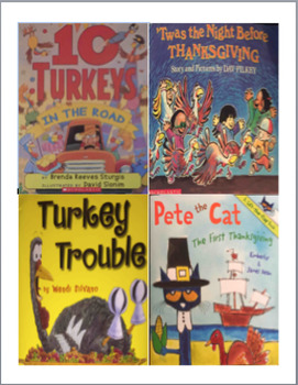 Adaptive Books- Thanksgiving package