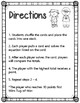 Add 10 Math Center Game (Numbers 1-100)