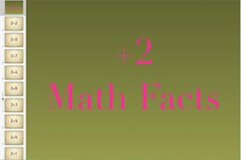 Add 2 Math Fact Keynote