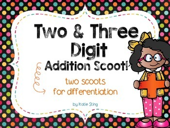 Add It Up: 2 & 3 digit SCOOT!