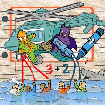 Add It Up & Act It Out with Superheroes -- Composing Numbe