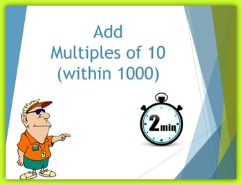 Add Multiples of 10 (within 1000)