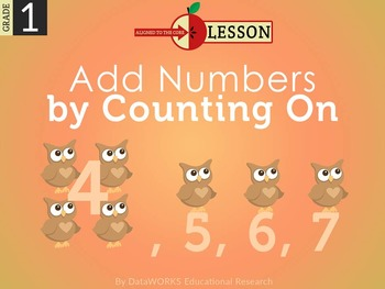 Add Numbers by Counting On
