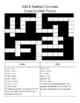 Add & Subtract Decimals Cross Number Puzzle