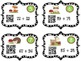 Add & Subtract Fall Critters ( Decompose, Number line, Pla