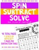 Add, Subtract, Multiply, and Divide Fluency Practice Spinn