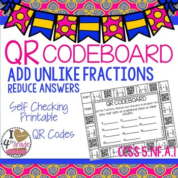 Add Unlike Fractions CCSS 5.NF.A.1