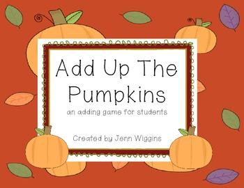 Add Up The Pumpkins ~Freebie