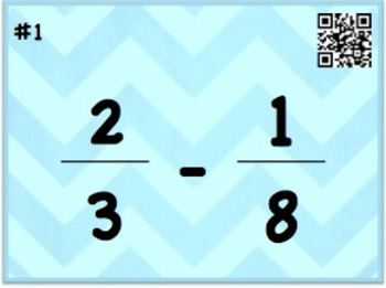 Add and Subtract Fractions with Unlike Denominators Task C