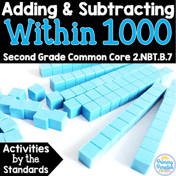 Add and Subtract within 1000: 2.NBT.B.7 Common Core Math 2