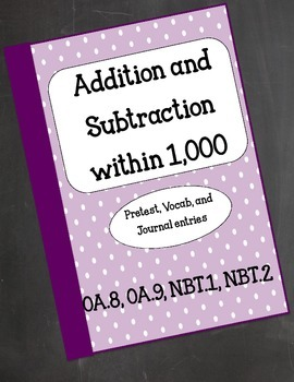 Common Core Add and Subtract within 1,000 Resource Kit: Jo