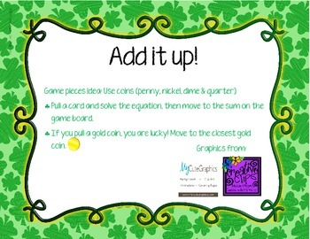 Add it up! Shamrock themed