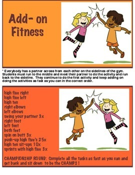 Physical Education - Add - on Fitness