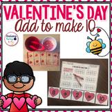 Add to Make 10 Valentine's