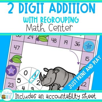 Addition - 2 Digit Numbers with regrouping