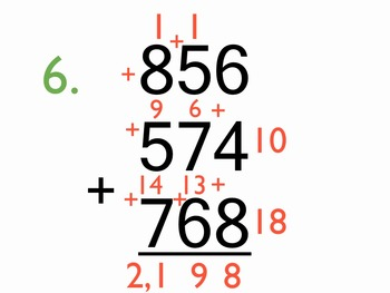 Adding 3-Digit Numbers mp4 (12 problems, 9 minutes) Kathy Troxel