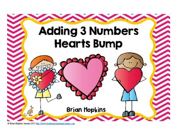 Adding 3 Numbers Valentines Day Bump