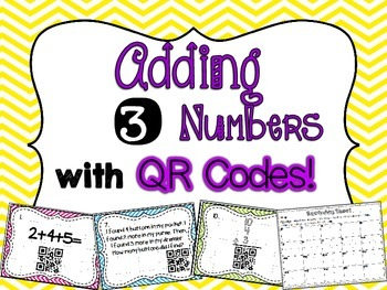 Adding 3 Numbers with QR Codes!