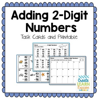 Adding 4 2-digit Numbers