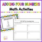 Adding 4 Numbers - 2.NBT.6