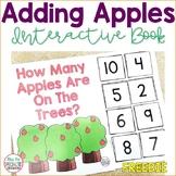 Adding Apples Interactive Book FREEBIE (Special Ed. & Auti